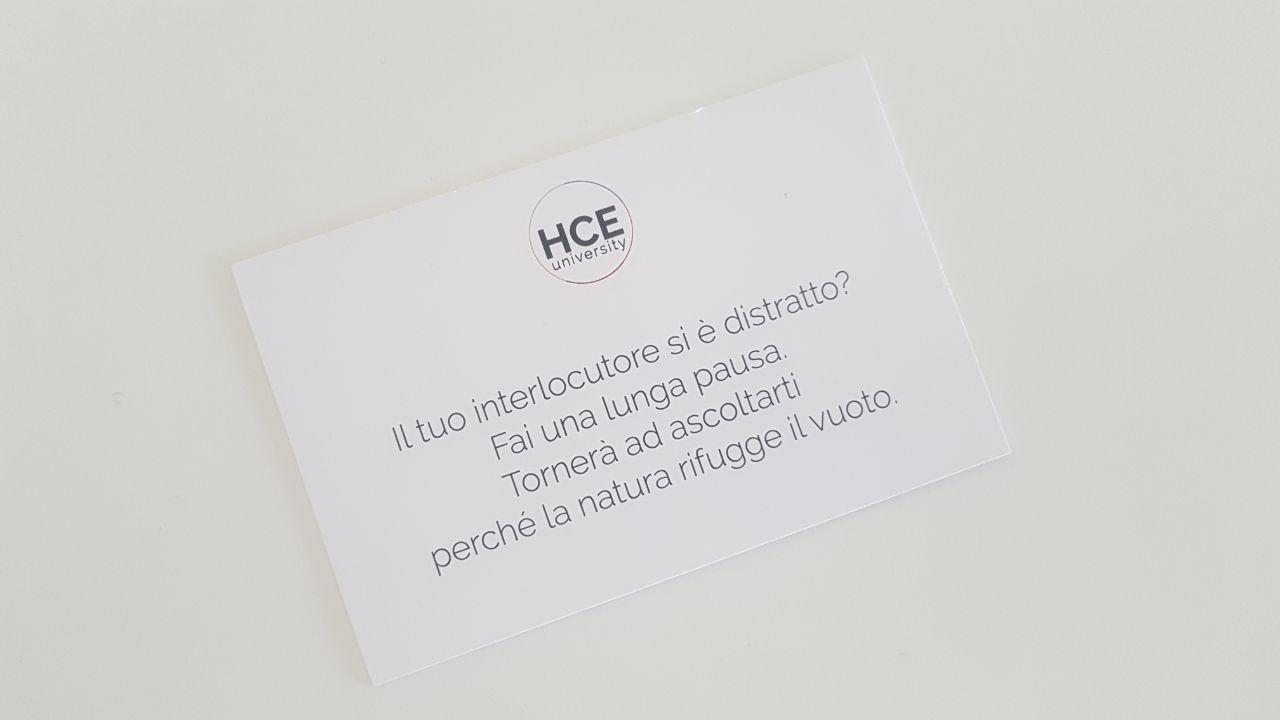 La mia HCE Experience con Paolo Borzacchiello