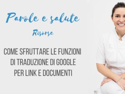 Traduzione di Google per link e documenti [video]