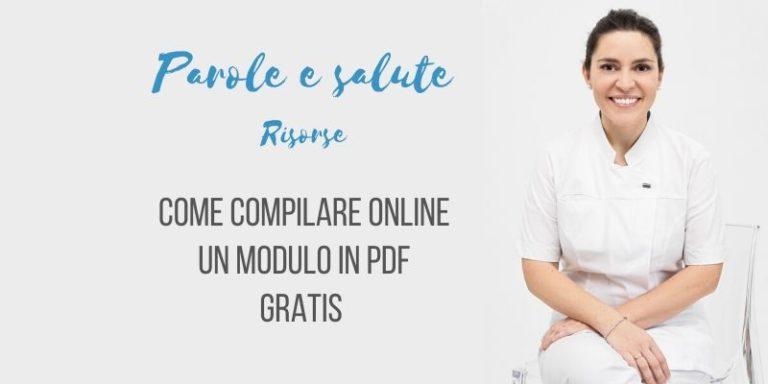Come compilare un pdf gratis online